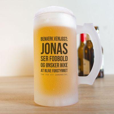 Ekslusive kopper og glas - Ølkrus til fodboldfans