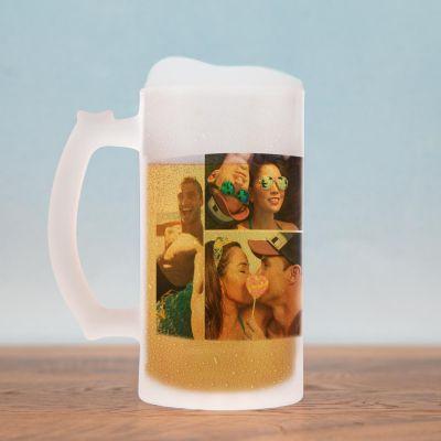 Ekslusive kopper og glas - Ølkrus med 5 billeder