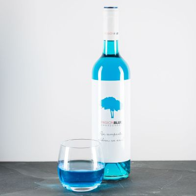 Fødselsdagsgave til en drengeven - Chardonnay in Blau