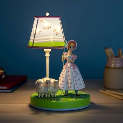 Nyt - Toy Story Bo Peep Lampe med figur