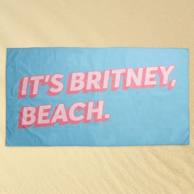 Udendørs - Britney Beach Strandhåndklæde