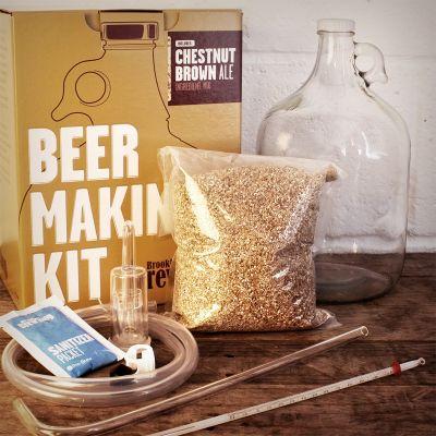 20 års fødselsdagsgave - Brooklyn Brew Shop Ølbryg Sæt
