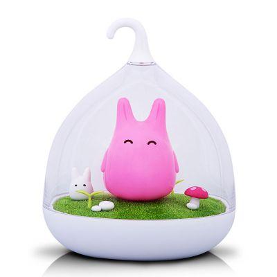 Belysning - Kanin natlampe med touchsensor