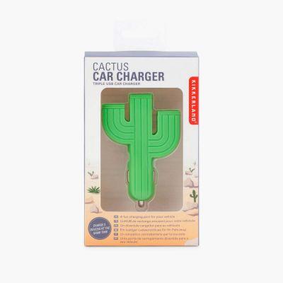 Gadgets til telefonen - Kaktusoplader til bilen