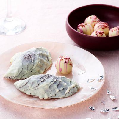 Sødt - Chokolade østers og champagnetrøfler