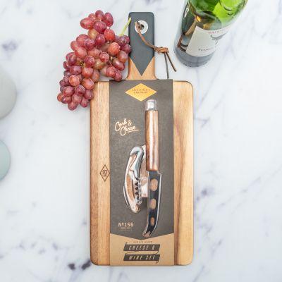 Køkken & grill - Serveringssæt til ost og vin