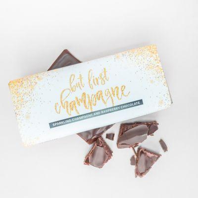 Eksklusivt chokolade - Champagne Hindbær Chokolade