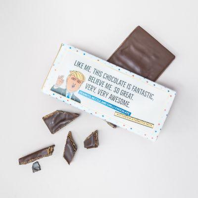 50 års fødselsdagsgave - Trump chokolade