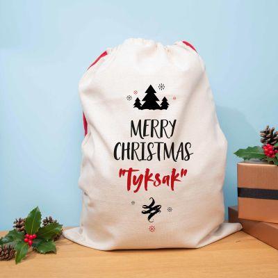 Julegaver til ham - Personaliseret Julesæk