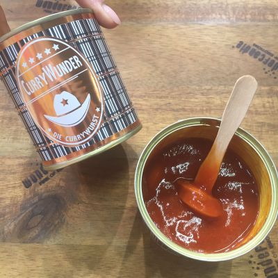 Mad & Drikke - Currywunder - Currywurst på dåse