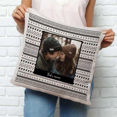 Personlige puder - Personaliseret Pudebetræk med Foto og Tekst