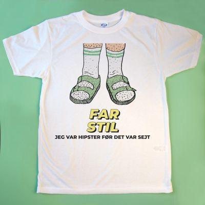 T-shirt - Sandaler med tekst
