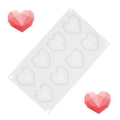 Køkken & grill - Hjerte bageforme i silikone