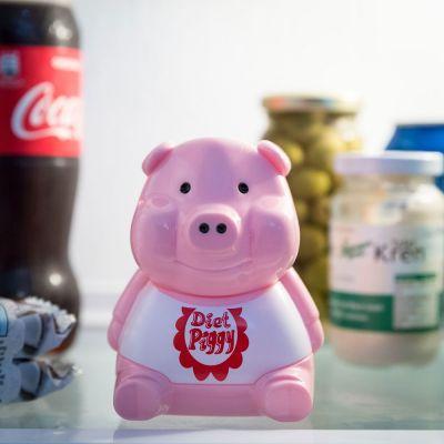 Sjove gaver - Køleskabs diæt gris
