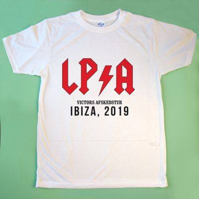 Nyt - Personaliseret t-shirt med tekst