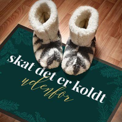Vinter - Dørmåtten til jul