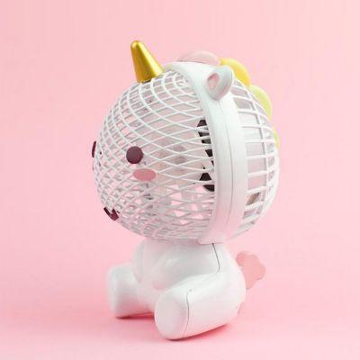 Fødselsdagsgave til en pigeven - Elodie Enhjørning Ventilator med USB