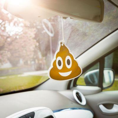 Totalt crazy - Emoji Poop - Luftfrisker til bilen