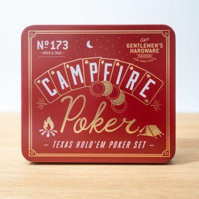Drikke og Partyspil - Campfire Poker Sæt