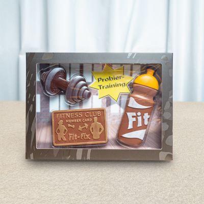 Sødt - Fitness-sæt af chokolade