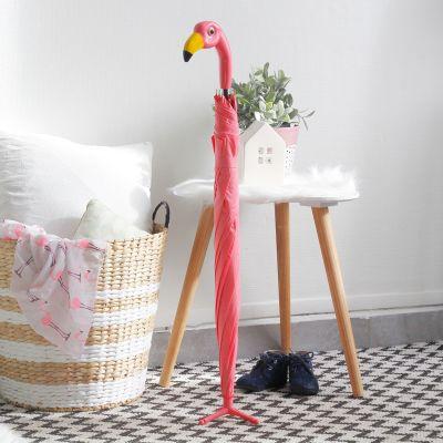 Udendørs - Flamingo Paraply