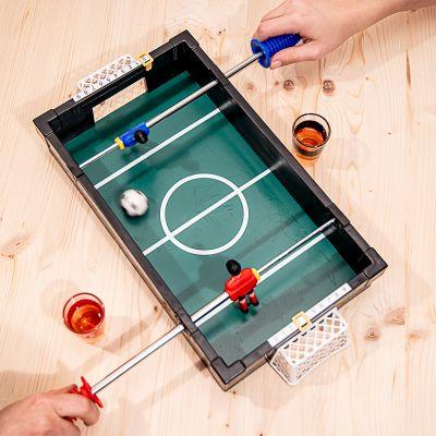 Drikke og Partyspil - Bordfodbold drukspil