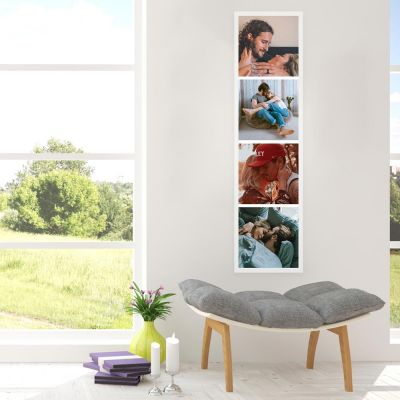 Bryllupsdagsgave - Personaliseret Fotostrip Plakat