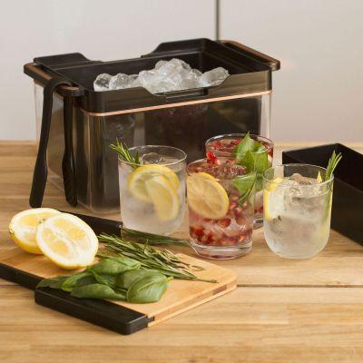 50 års fødselsdagsgave - Bærbar cocktailbar
