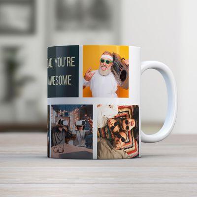 Ekslusive kopper og glas - Personaliseret krus med foto