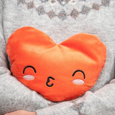 Nyt - Opvarmelig pude i hjerteform