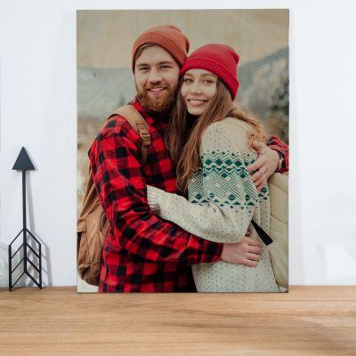 Fotogaver - Customizable Fotobillede på træ