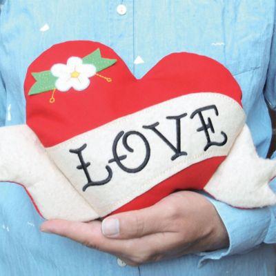 Valentinsgaver til hende - Opvarmeligt kælehjerte