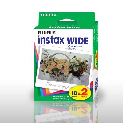 Kamera & foto - Fujifilm Instax WIDE Kamerafilm Sæt med 2