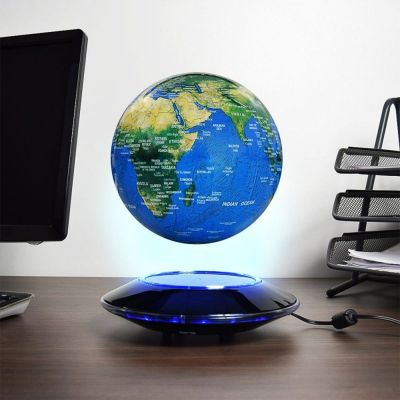 Julegaver - Svævende Globus med lys