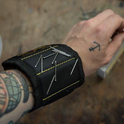Cool redskaber - Magnogrip Magnetisk Armbånd