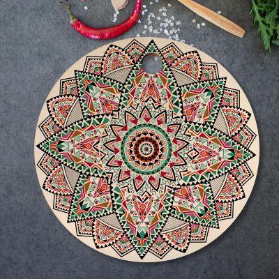 Køkken & grill - Mandala skærebræt
