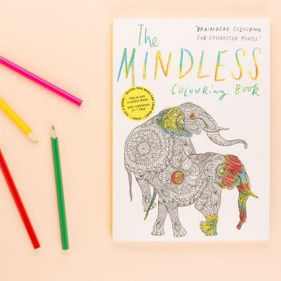 Bøger - Hjernedød sjov malebog til voksne
