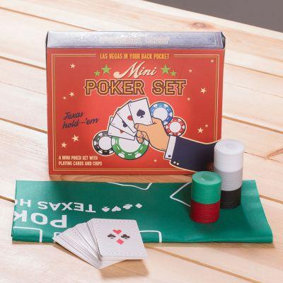 Drikke og Partyspil - Mini Poker Sæt