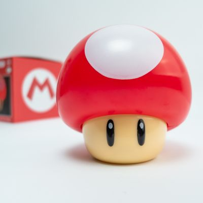 Fødselsdagsgave - Super Mario Toad Lampe
