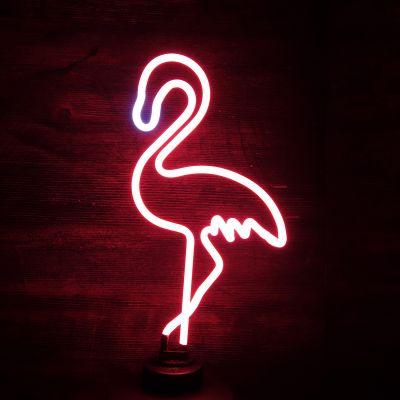 Udsalg - Flamingo neon lampe