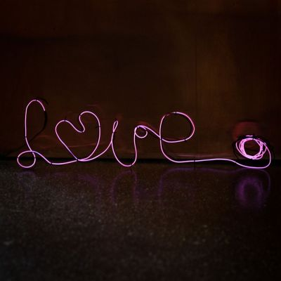 Billige gaver - DIY Neon lampe