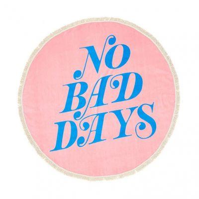 Udendørs - Stort Strandhåndklæde No Bad Days