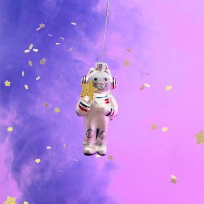 Nyt - Space-kat juletræsdekoration
