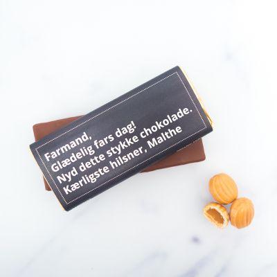 Eksklusivt chokolade - Personlig chokolade