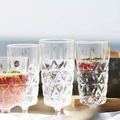 Sommer - Picnicglas i sæt på 4