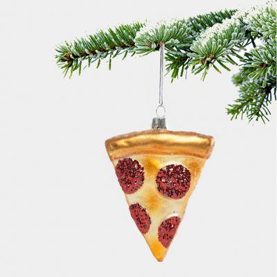 Juledekoration - Pizza Juletræspynt