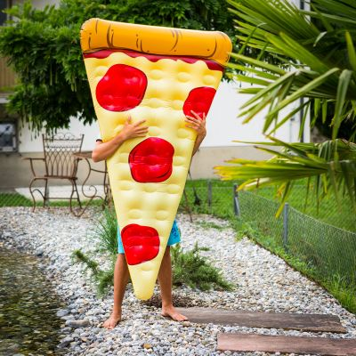 Udendørs - Pizza luftmadras