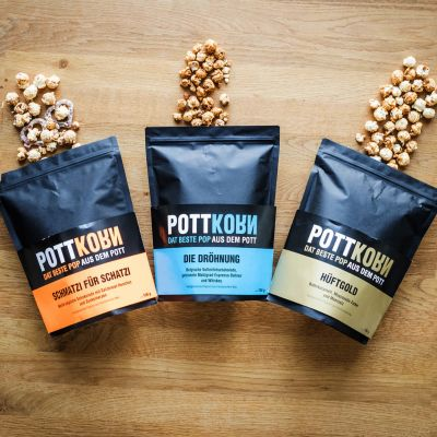 Sødt - Pottkorn - speciel popcorn