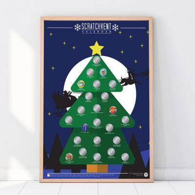 Julekalender - Skrabe-julekalender
