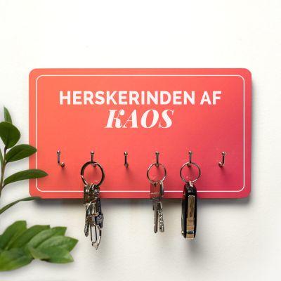 Mors dag gaver - Personaliseret nøgleophæng med 2 linjer